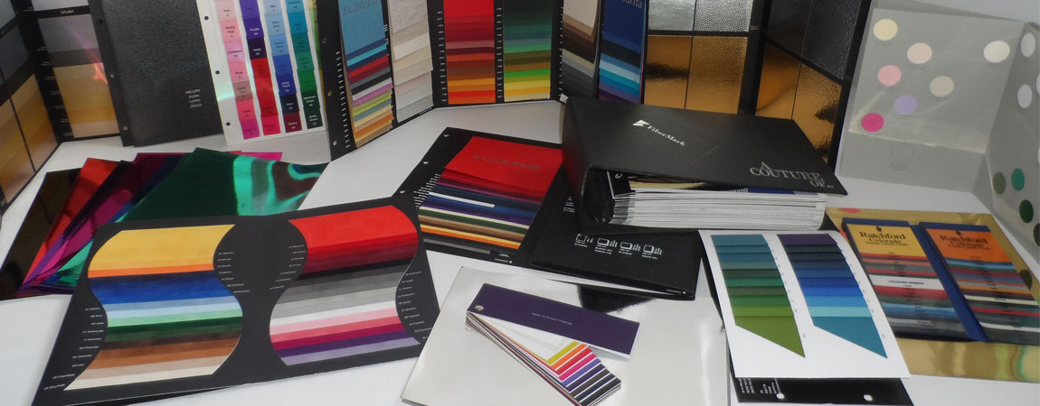 Colours and materials at A-Box Ltd